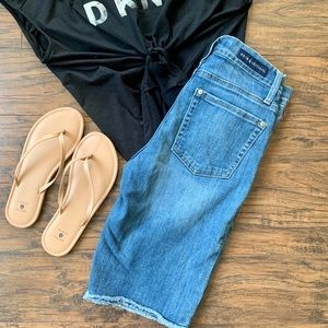 Rock & Republic Long Denim Shorts Size 8
